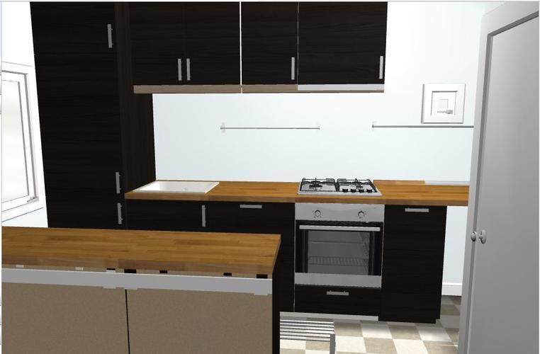 Blauw Keuken Ikea : Ikea keuken aanleggen in kleine ruimte werkspot