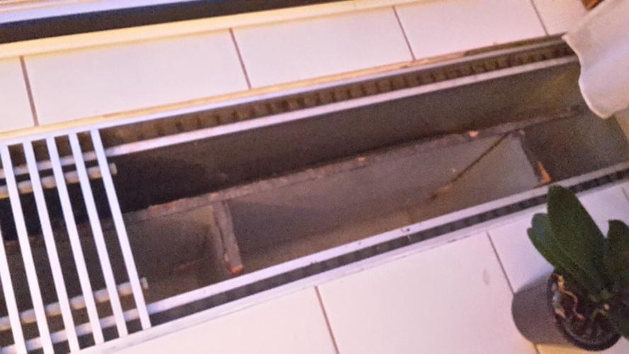 Bestaande convectorput dichtmaken ivm nieuwe vloer met