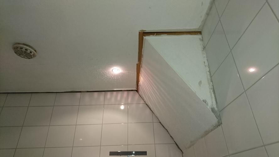 Plafond badkamer afwerken + kitten badkamer en toilet. - Werkspot