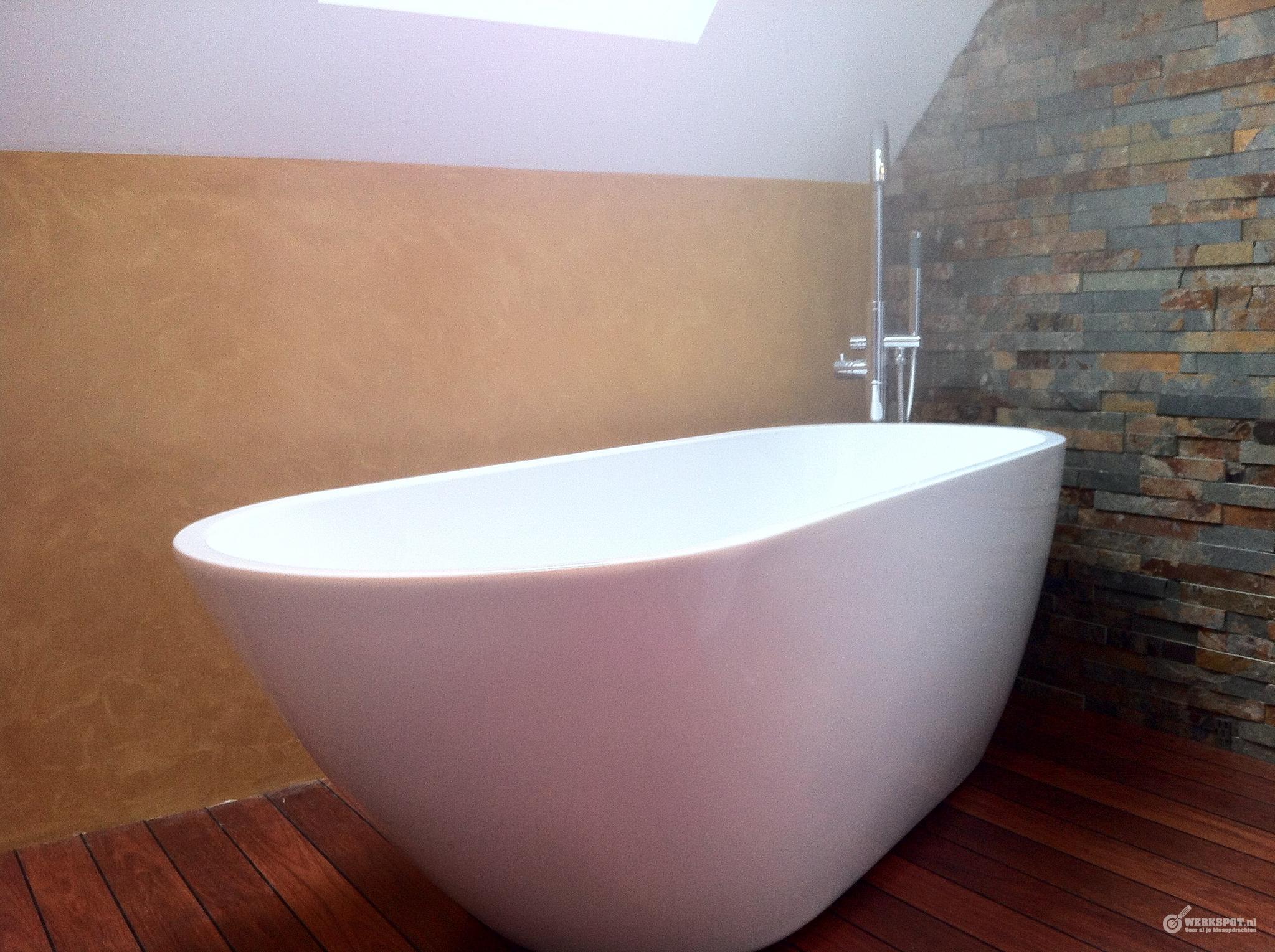 ca 21m2 beton cire stucwerk in toilet en badkamer werkspot