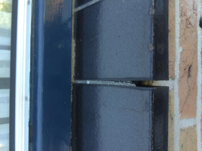 Vensterbank Tegels Buiten : Opnieuw voegen vensterbank tegels werkspot