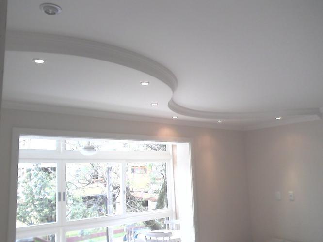 Spots Plafond Woonkamer : Verlaagd plafond in woonkamer t.b.v. spots projectiescherm en beam