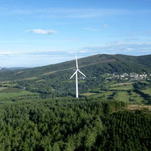 Parc éolien Haut Cabardès (Languedoc Roussillon)