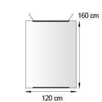 Kakemono format 60x120 cm