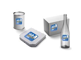 notre produit étiquette packaging