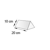 Cavalier de comptoir format 20x10 cm