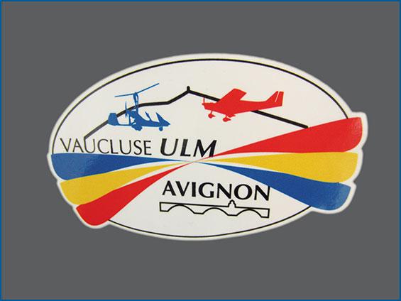 sticker ULM vaucluse
