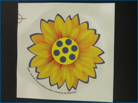 sticker fiore