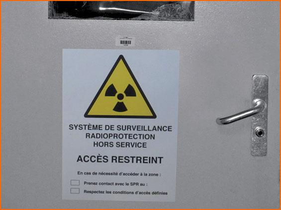 pannello magnetico d'informazione accesso riservato