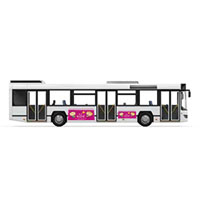 Support bus flanc gauche 274x68