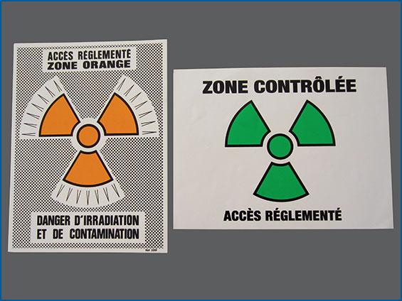 étiquettes accès controlée
