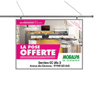 Support affiche 240x160