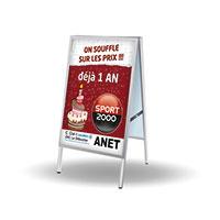 Support affiche 80x120