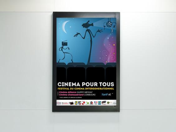 affiche 60x80 pour cinéma