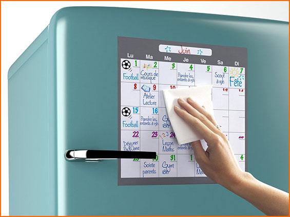 panneau magnétique de frigo