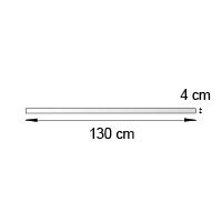 Bande de rive format 130x4 cm