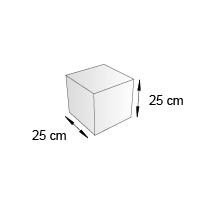 Cube de sol format 25 cm