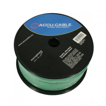 AC-MC/100R-G Microcable roll 100m, green