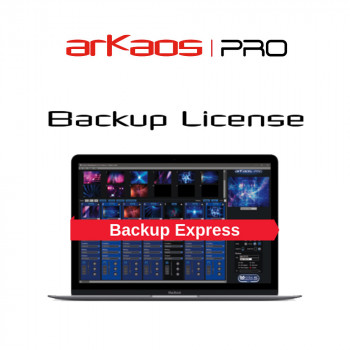 ArKaos MediaMaster Express 5 Backup