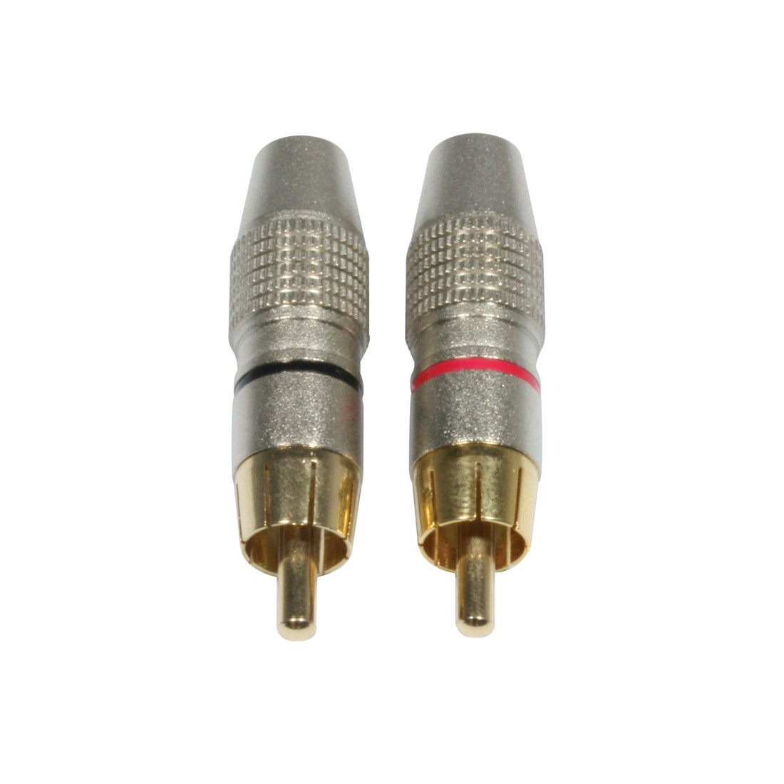 Ac-c-rmg  Set Rca Cinch Plug Male Gold - Cable Connectors - Connectors Audio  U0026 Light