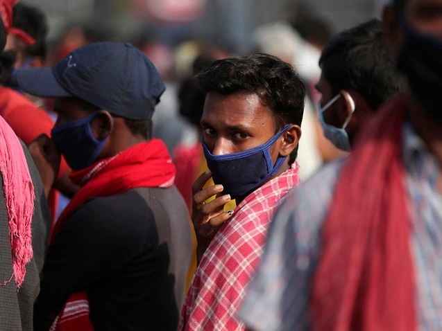 Global coronavirus death toll nears one million as India's cases pass six million