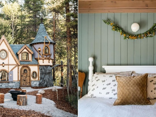 Forget Disneyland; You Can Live Out Your Real-Life Rapunzel Fantasies in This Whimsical Cottage