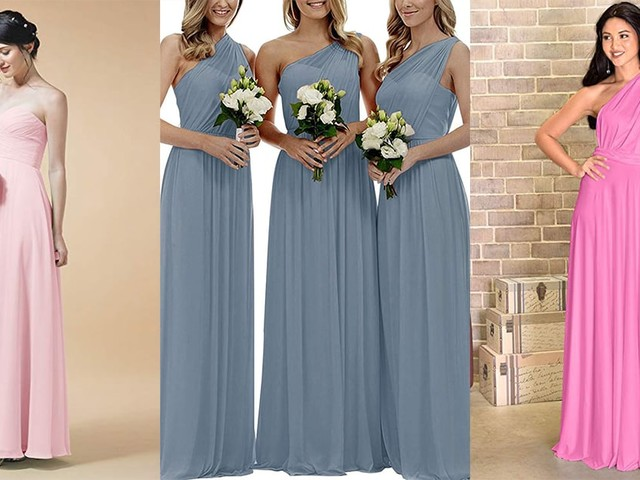 18 Bridesmaids Dresses on Amazon That Your Friends Will Actually Love