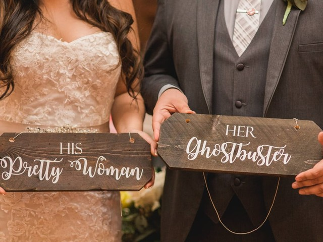 This Wedding Is a Spectacular Ode to Iconic Movies - From Disney Classics to Ghostbusters