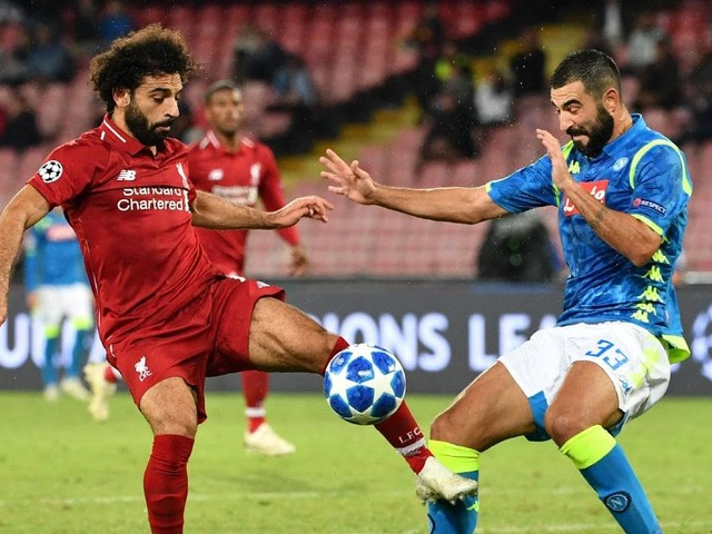 Champions League live blog: Liverpool v Napoli