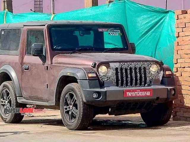 Mahindra Likely Working On Removable Hardtop Variant Of 2021 Thar