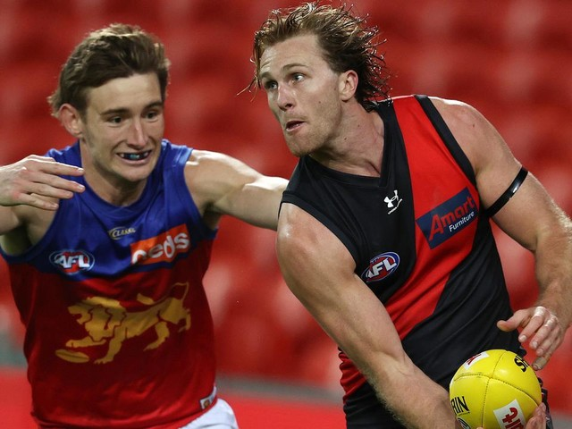 LIVE AFL: Daniher reunited with old Bombers mates in must-win clash for Brisbane