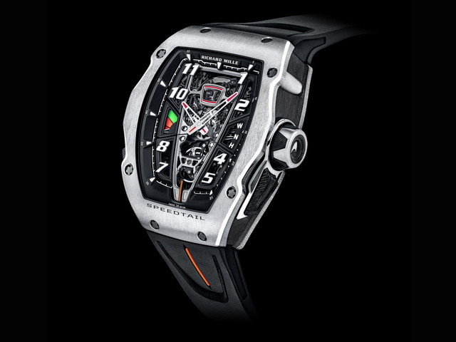 Richard Mille Reveals A $1 Million Hyper Watch To Match Your McLaren Speedtail Hyper Car