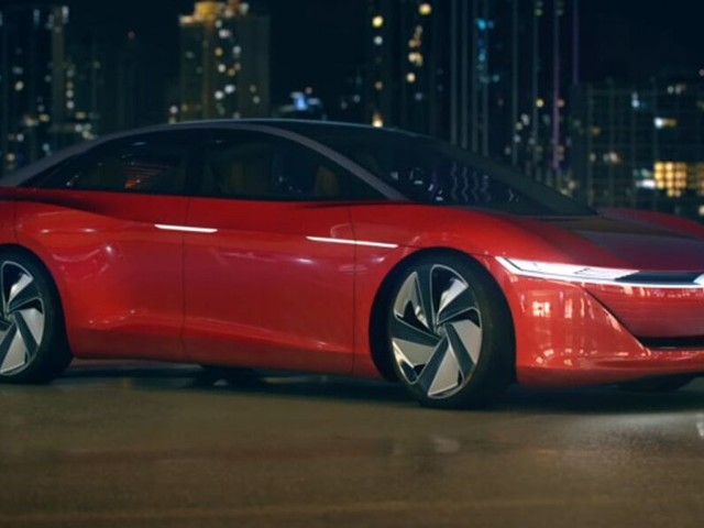 Volkswagen I.D. Vizzion Concept Hits The Road Prior To China Debut