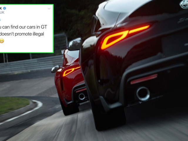 """Toyota Says Its Cars Aren't In Need For Speed Heat Because Game Promotes """"Illegal Street Racing"""""""