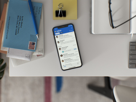 Microsoft Outlook for iOS get a brand-new look, haptic feedback - CNET