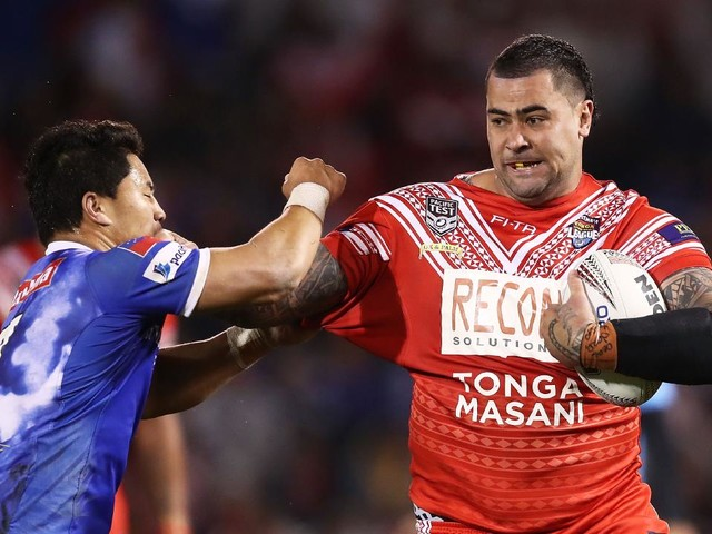 Fifita thinks that Tonga are a bigger draw card than Australia