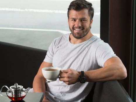 Former Brumbies star Adam Ashley-Cooper found inspiration for tea line in Canberra
