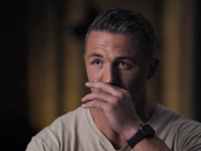 Sam Burgess chokes up over tragic death of father and 'one of the biggest things that hurts me'