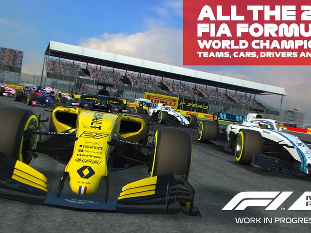 F1 Mobile Racing Game Packs Lots Of Action Into Your Phone