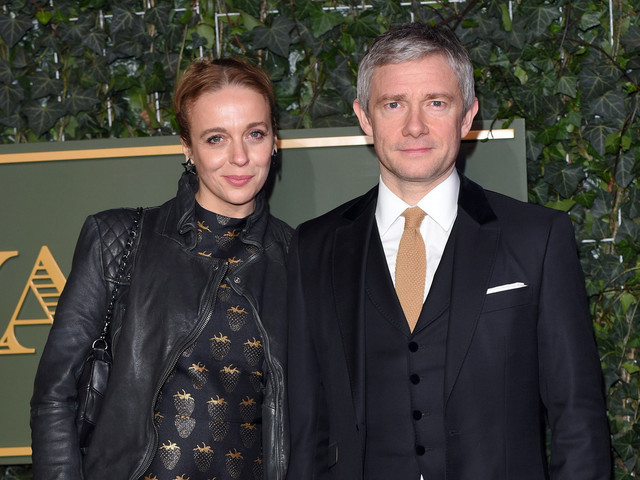 The Hobbit star Martin Freeman separating from wife after time apart filming strains marriage