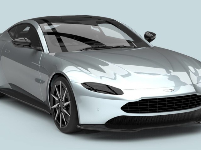 """Someone Fixed The Aston Martin Vantage's Huge Grille """"Problem"""""""