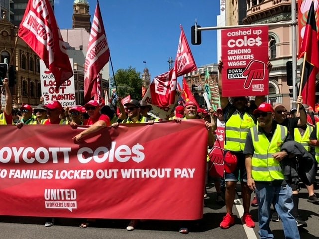 Coles workers say 'no' to the non-union agreement