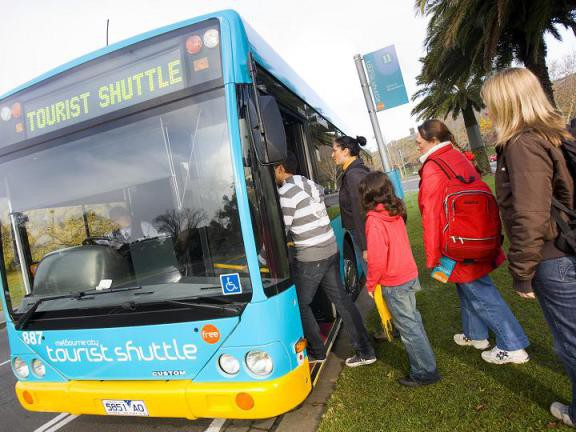 Melbourne's Free City Tourist Shuttle Bus