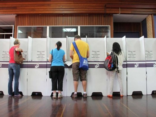 Queenslanders head to the polls during coronavirus pandemic