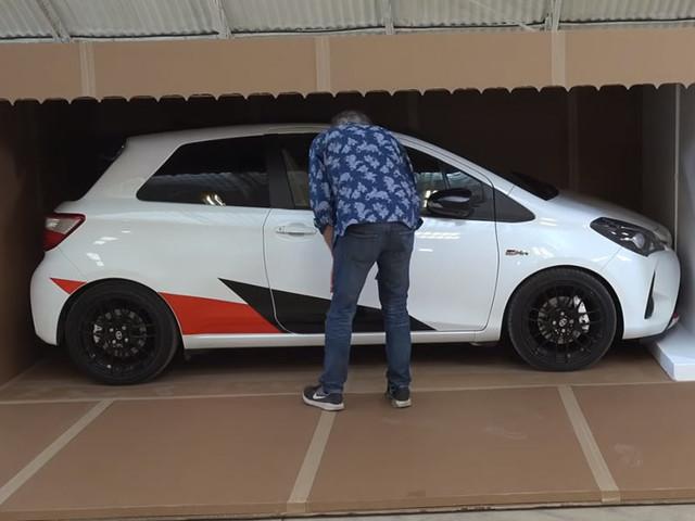 Watch James May Unbox A Toyota Yaris GRMN