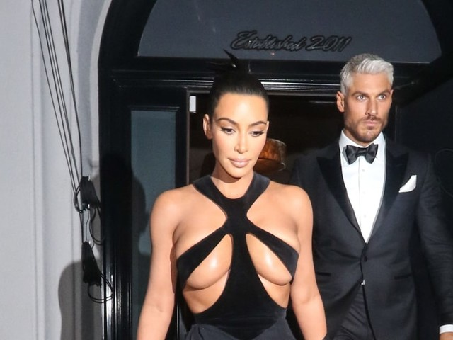 "You Asked ""Who's the Silver Fox Behind Kim Kardashian?"" and We Answered"