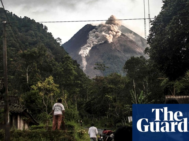Indonesia's Mount Merapi volcano erupts – in pictures