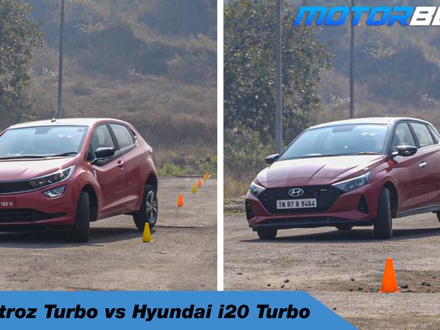 Tata Altroz iTurbo vs Hyundai i20 Turbo [Video]
