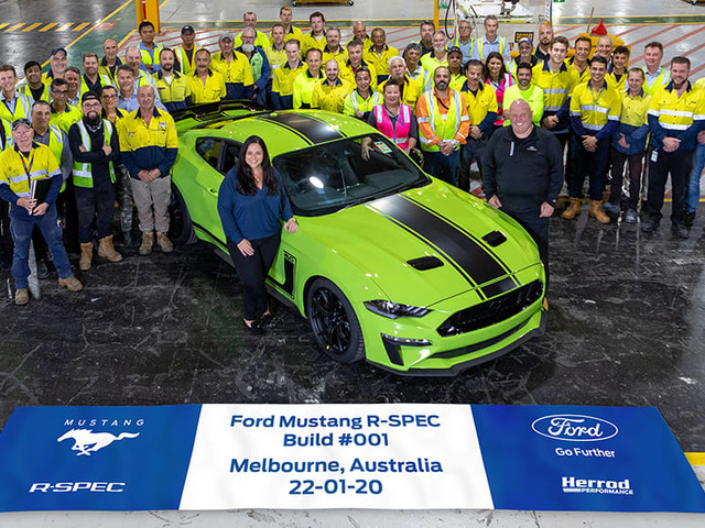 Hoping to buy a new Ford Mustang R-Spec 2020? Get in quickly!