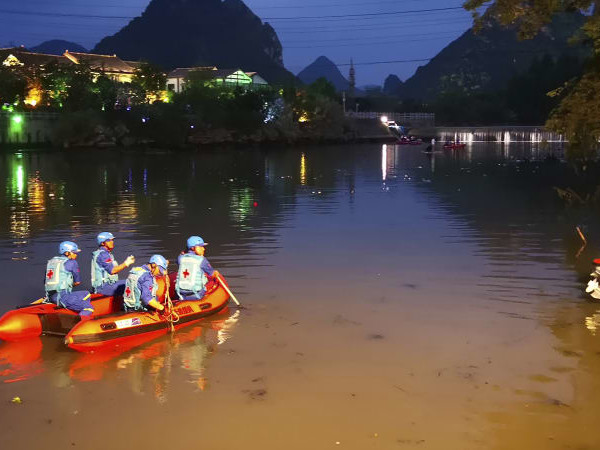 Multiple dead and missing after boat accident in southern China